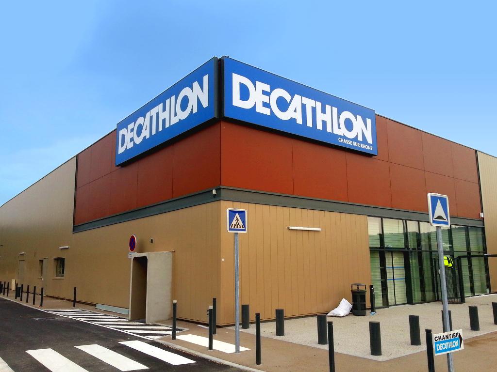 Decathlon - 2 caissons lumineux 8x2m - Dpt 69