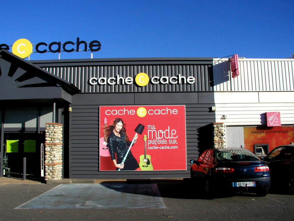 Cache Cache - toile tendue 4x3 m - Dpt 09