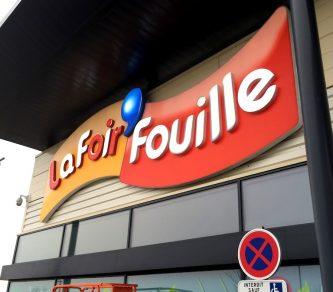 Caisson lumineux La Foir'Fouille